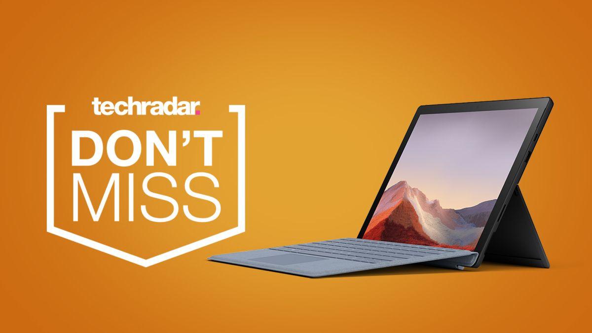Microsoft réduit le prix de la Surface Pro 7 - économisez jusqu'à 300 euros