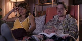 Marisa Tomei and Pete Davidson in The King of Staten Island