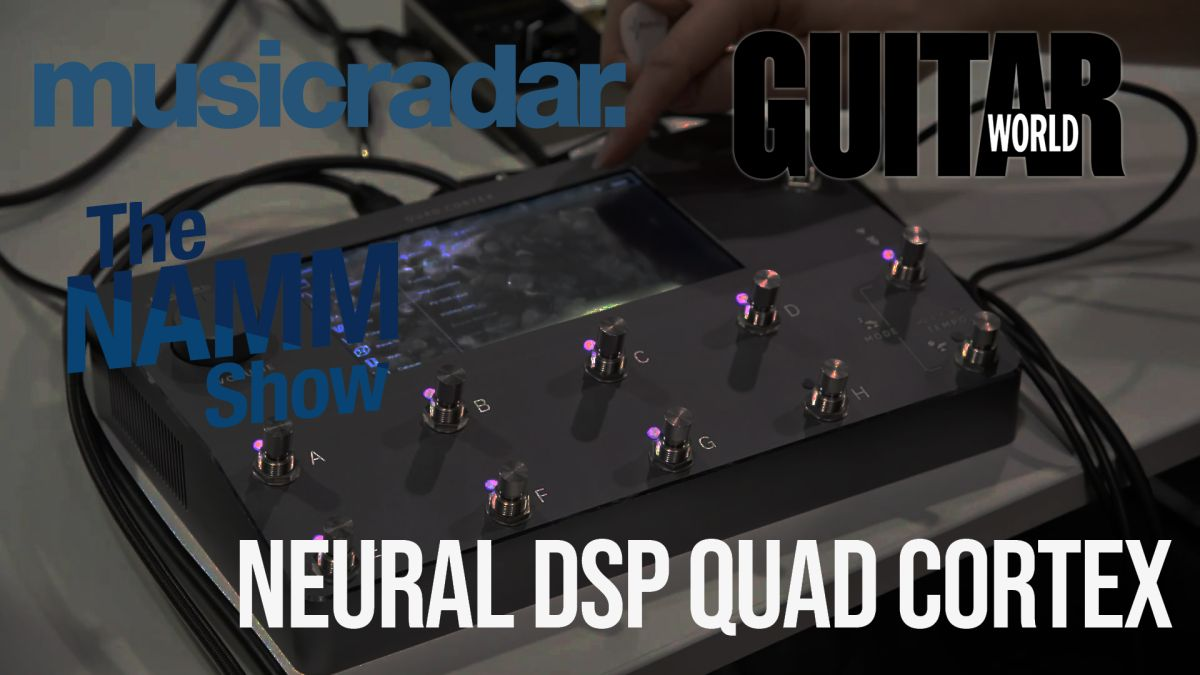 NAMM 2020 VIDEO: Neural DSP's AI-powered floor modeller is 'Vulgar Display of Power'