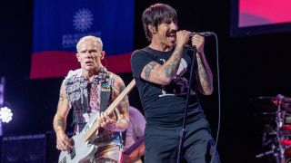 The real deal: Flea and Anthony Kiedis of the Chili Peppers