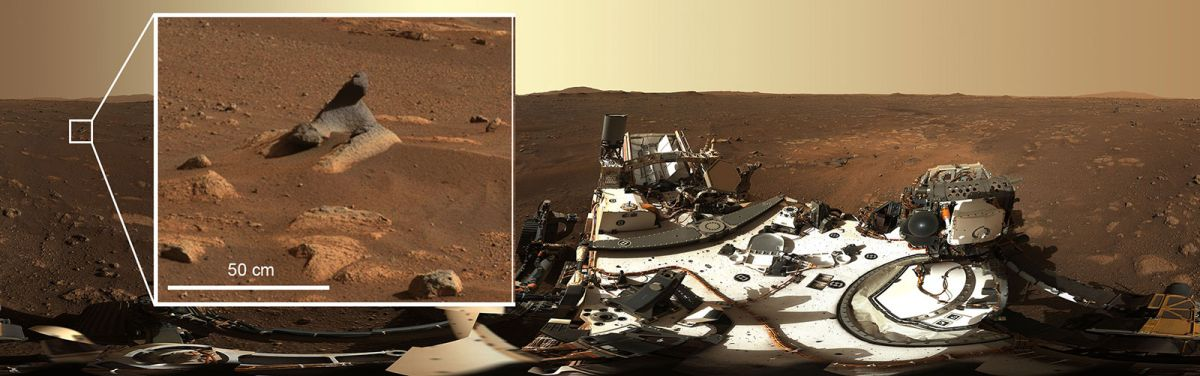 'Harbor Seal Rock' on Mars and different new sights intrigue Perseverance rover scientists