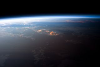 Astronauts onboard the International Space Station see the Earth from a unique perspective — for example, in one 24-hour period, they see not one sunrise and sunset, but 16 on average.
