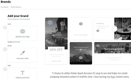 Créateur de site Web Adobe
