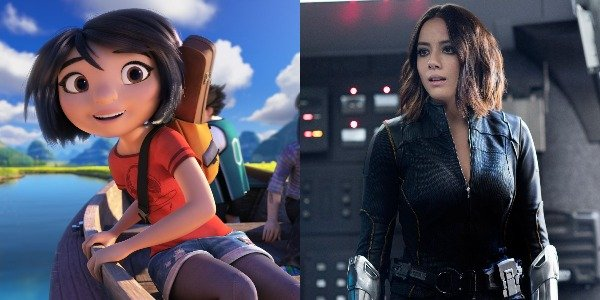 Chloe Bennet as Yi in Abominable and Daisy in Agents of Shield