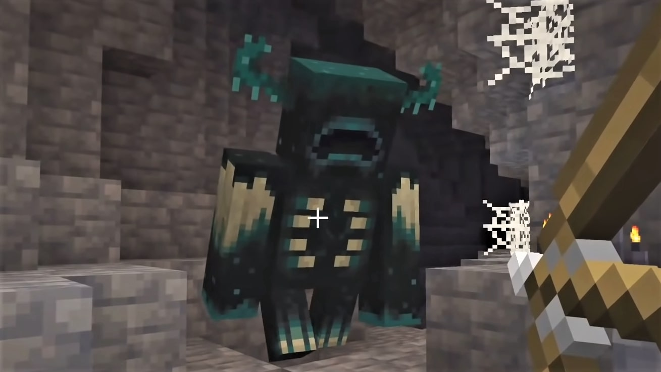 I am terrified of Minecraft's new blind but ferocious monster