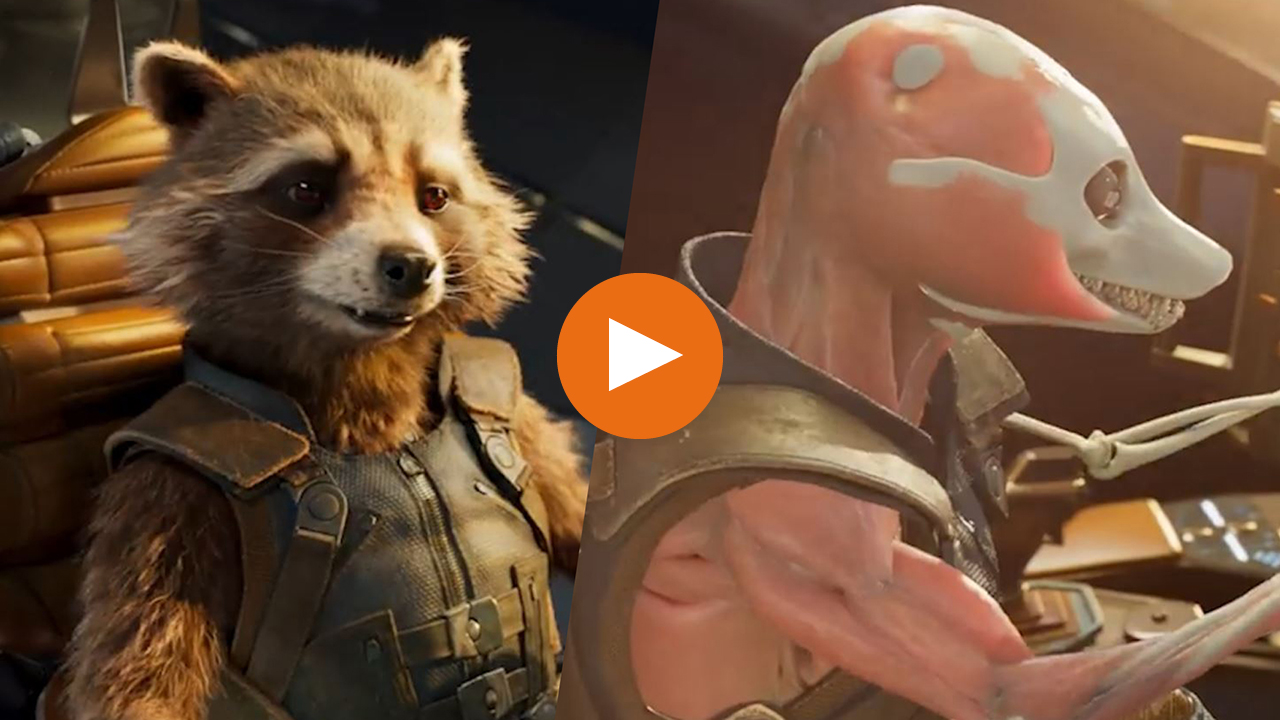 Discover what the MCU looks like without special effects and