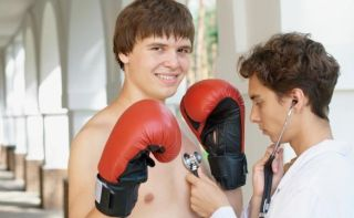 teen boxer doctor