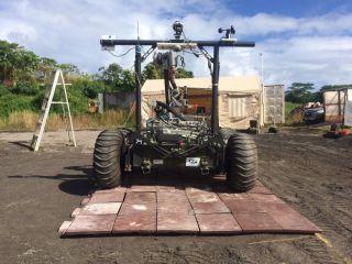 Helelani Rover Prototype Landing Pad