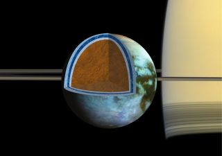 Saturn Moon Titan's Ocean Super Salty