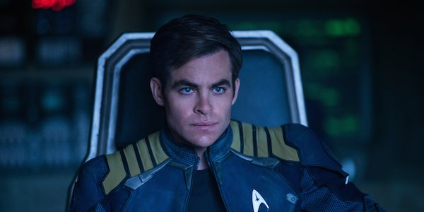Chris Pine as James T. Kirk in Star Trek Beyond