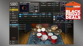 Black Friday Deals Sweetwater Slashes 90 Off The Steven Slate Drums Ssd5 Virtual Drum Plugin Musicradar