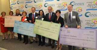 SYNNEX Fundraiser Raises $1.07 Million for Children's Charities
