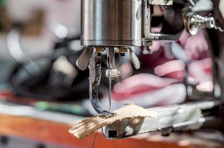 A shoemaker's workshop.