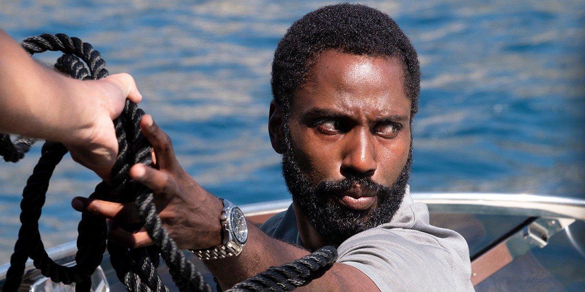 John David Washington as the Protagonist in Tenet (2020)