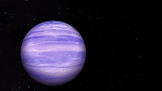 Astronomers have detected traces of water ice clouds in the atmosphere of the brown dwarf WISE 0855, a misfit failed star about 7.2 light-years from Earth. The discovery is the first time water ice clouds have been found beyond the solar system, scientist