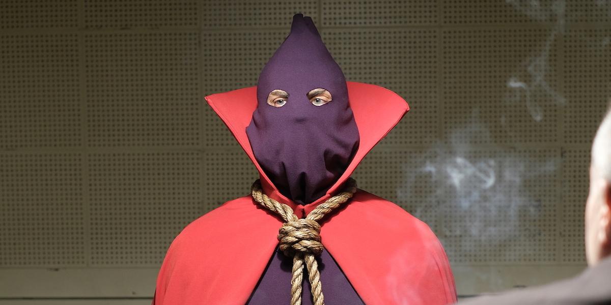 hbo watchmen hooded justice in american hero story