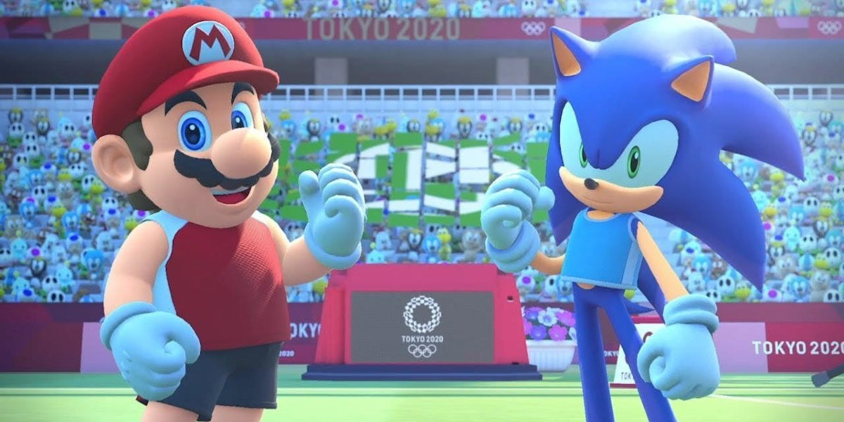 Mario and Sonic in Mario & Sonic at the Olympic Games Tokyo 2020