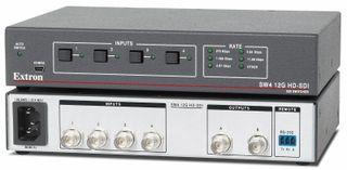 Extron's SW4 12G HD-SDI switcher