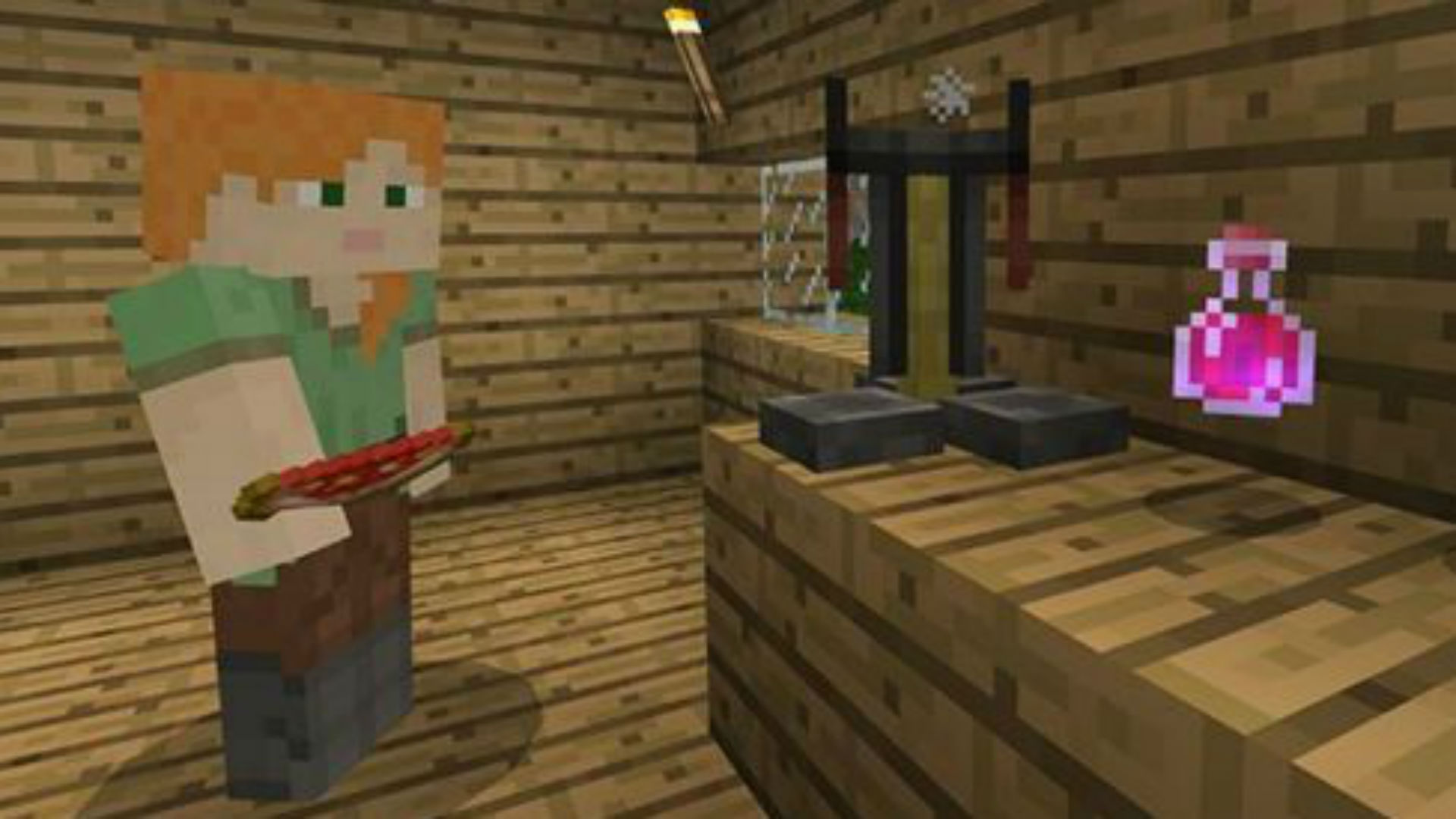 Best Minecraft Potions How To Use A Minecraft Brewing Stand To Create Useful Recipes Pc Gamer