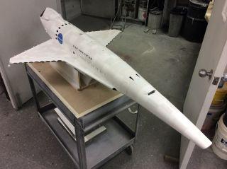 Orion III spaceplane model