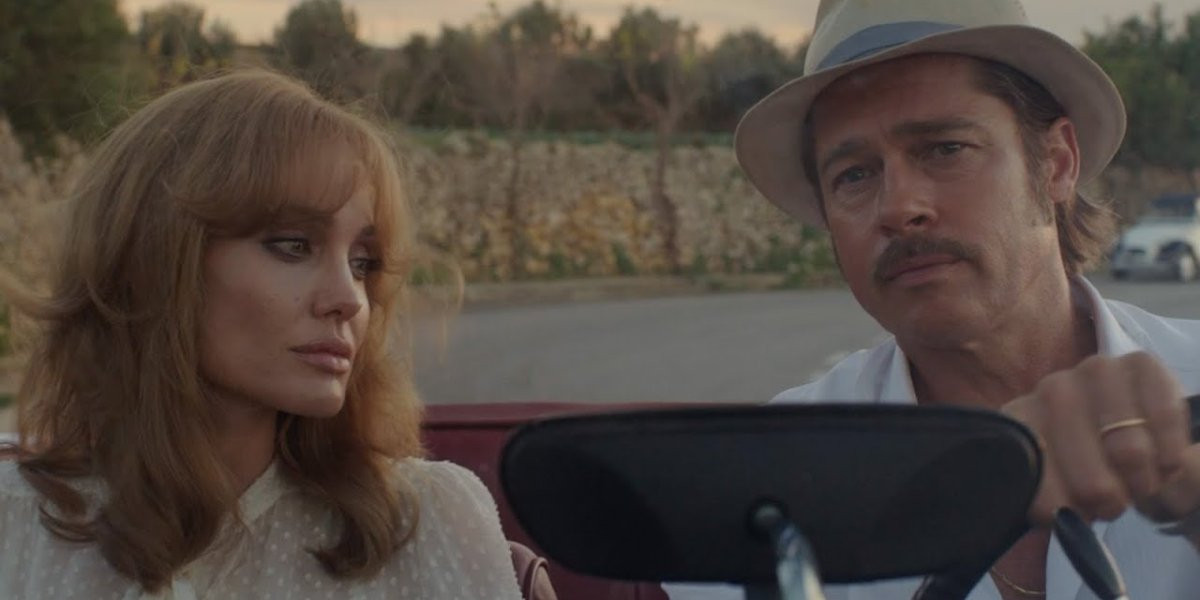 By The Sea Angelina Jolie and Brad Pitt drive together, looking upset
