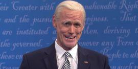 Jim Carrey's SNL Impression Of Joe Biden Earned Some Kind Words For A Change