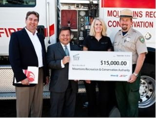 Take1 Insurance and Fireman's Fund Donate to MRCA