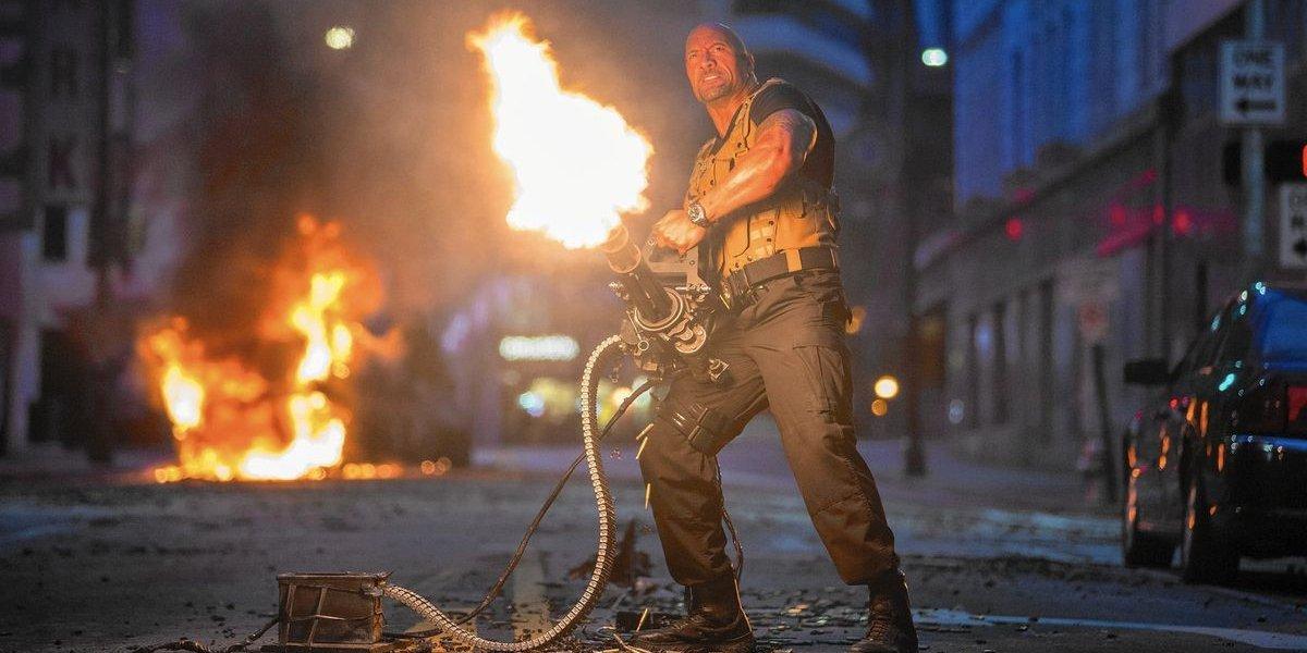 Dwayne Johnson in Furious 7