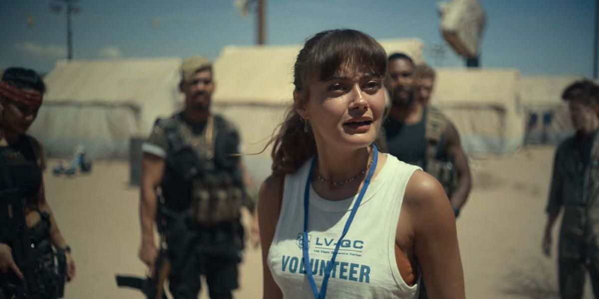 Ella Purnell as kate in Army of the Dead