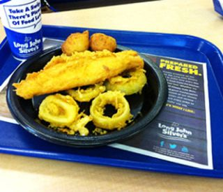 "Long John Silvers' Big Catch, a fried fish,has been named the ""Worst Restaurant Meal in America,"" by the CSPI"
