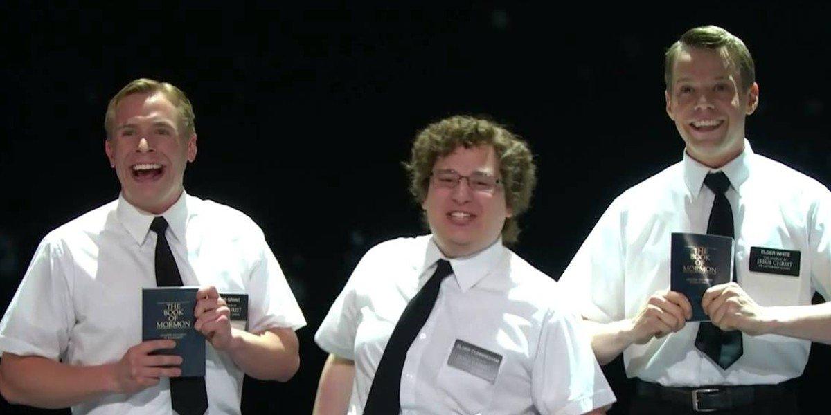 Book of Mormons Tonys 2012