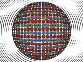 Sophisticated simulation suggests engineers could craft new materials using liquid crystals as structural guides.