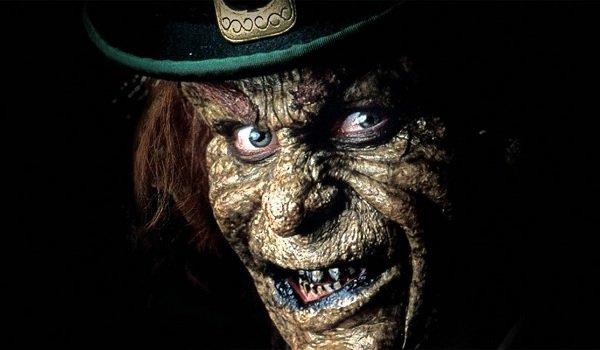 Leprechaun Warwick Davis grinning evil