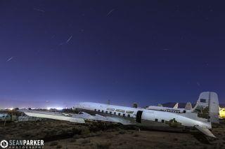 2013 Quadrantid Meteors Over Tucson
