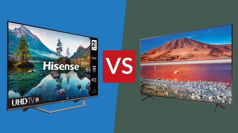Samsung TU7100 vs Hisense A7500