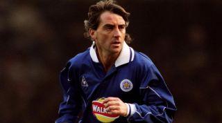 Roberto Mancini Leicester
