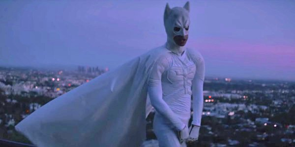 Jaden Smith Batman costume in Batman music video