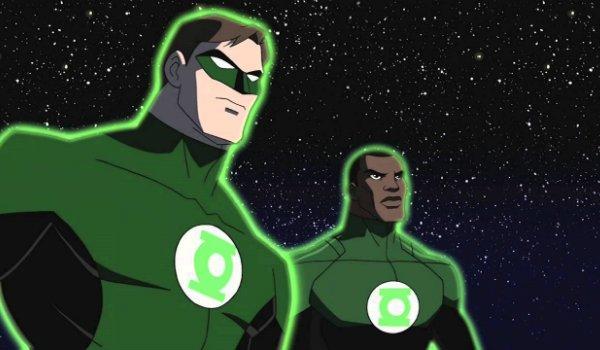 John Stewart Hal Jordan Green Lantern