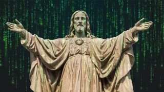Tech collides with theology, in AI Jesus.