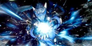 Sub Zero in Mortal Kombat 11.