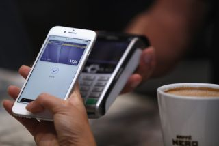 Using Apple Pay to pay for shopping