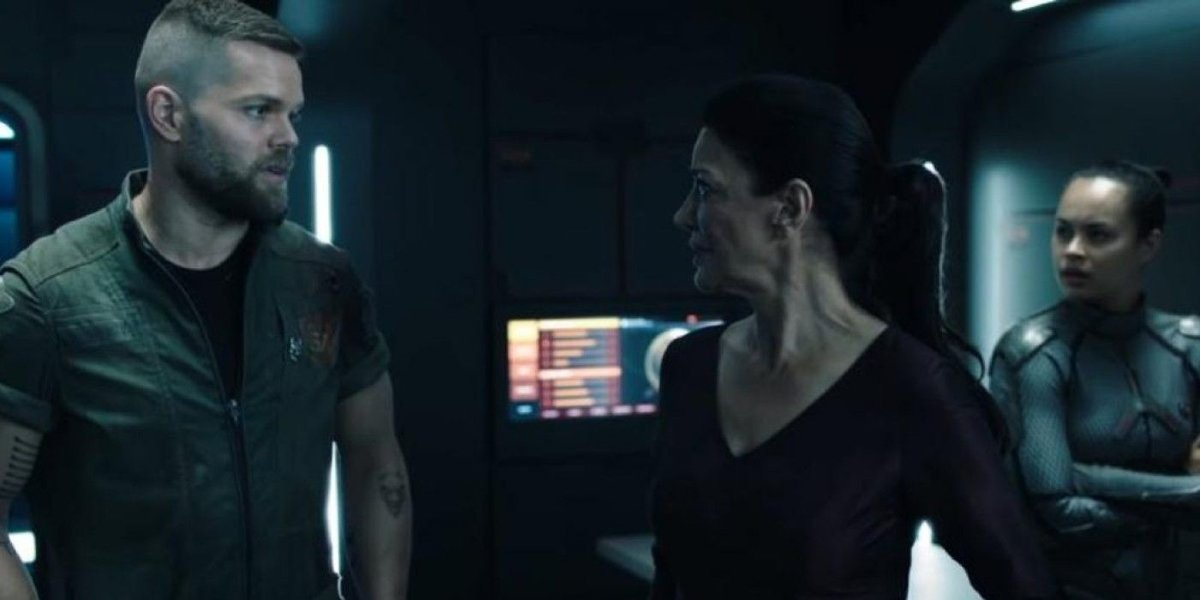 Wes Chatham and Shohreh Aghdashloo on The Expanse