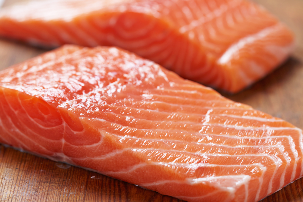 Salmon with a Side of Squirm: Woman Finds Wriggling Worm in