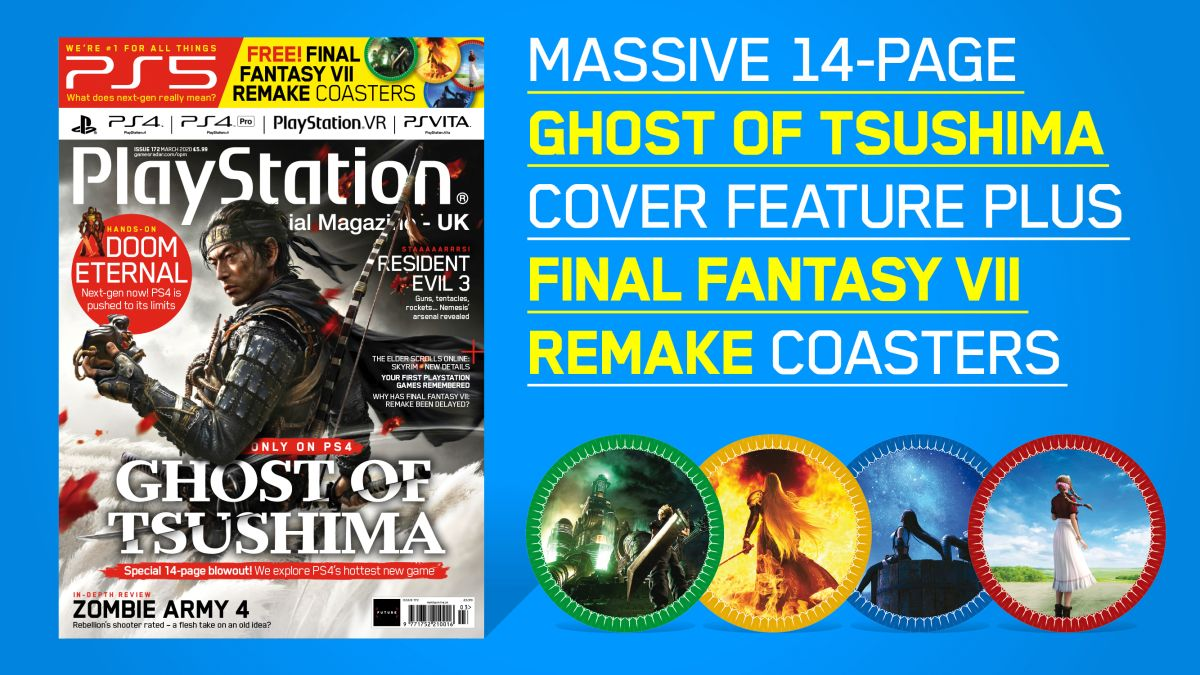 Ghost Of Tsushima: PS4's samurai epic leads 14-page cover feature in Official PlayStation Magazine