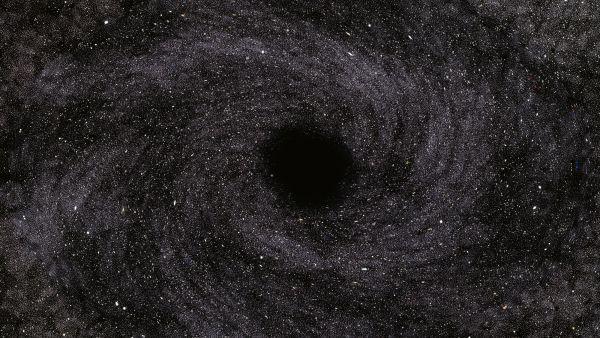 Lab-grown black hole analog behaves just like Stephen Hawking said it would