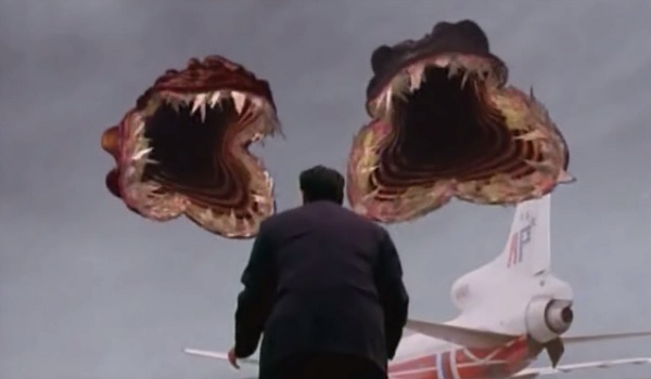 The Langoliers giant mouths ready to eat a man