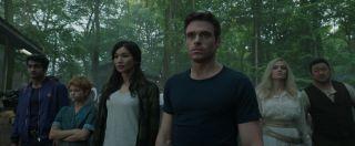 "The ensemble cast of Marvel's ""Eternals."""