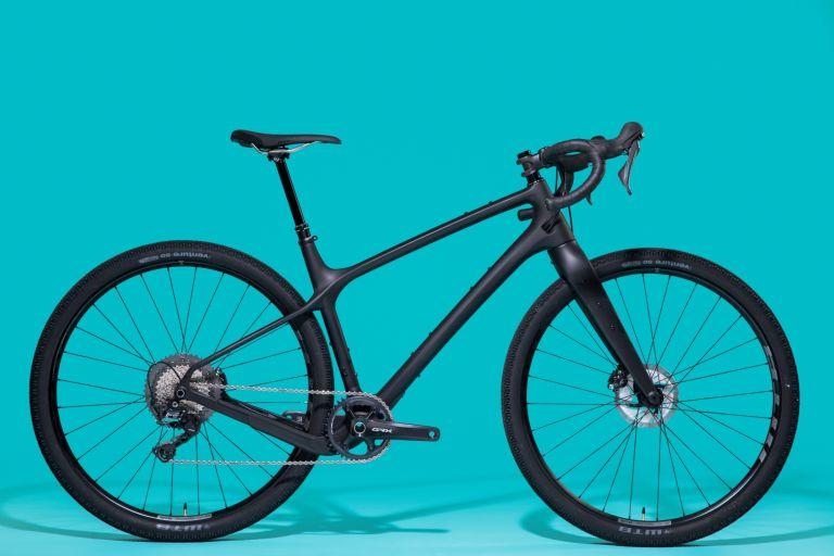 Evil Chamois Hagar gravel bike is pictured side on