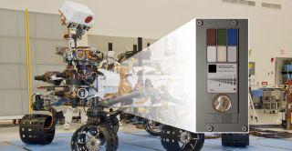 Curiosity Rover's Penny
