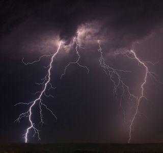 Lightning.